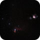 Orion + Horsehead Nebulae,                                Joel Balzan