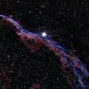 Western Veil Nebula - BiColor,                                Bjoern Schmitt