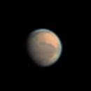 Mars on January 23, 2021,                                Chappel Astro