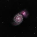 The Whirlpool galaxy,                                Mostafa Metwally