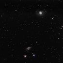 M77 and NGC 1055,                                George Simon