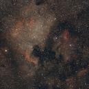 NGC7000 & IC5070 - widefield,                                Almos Balasi