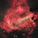 Messier 17, aka the Omega Nebula or the Swan Nebula,                                José Joaquín Pérez