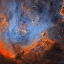 The Running Chicken Nebula   IC2944,                                Logan Carpenter