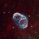 Crescent Nebula (NGC6888) in Cygnus Bicolor,                                Iñigo Gamarra