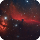 The Flame and Horsehead Nebula,                                Brett Creider