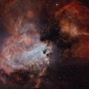 M17 - Swan Nebula,                                SkyPi Remote Observatory