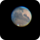 Icy clouds over Mars,                                antares9000