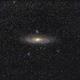 M 31 Andromeda Galaxy 200mm,                                Frank Rauschenbach