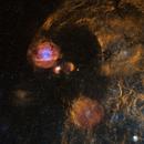 Cosmic Marbles: Sh2-232 to M38,                                Jeffrey K Lovelace