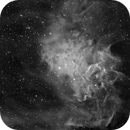 IC 405 Flaming Star in Ha,                                Rob Fink