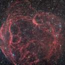 Sh2 240 Spaghetti Nebula,                                Cheman