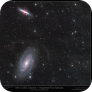 M81 & M82 Galaxies + IFN from light polluted Manchester,                                Mike Oates