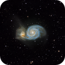 M51 - The Whirlpool Galaxy,                                KTAZ