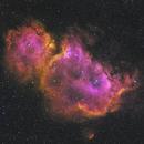 Heart and Soul Nebula 2 Panel Mosaic (Melotte 15 & Sh2-199),                                marcsphotography