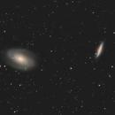 M81 and M82, close crop,                                doug0013