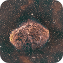 Crescent Nebula - BiColor with a dab of SII,                                John Butler
