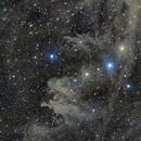 Drunken Dragon Nebula (LBN 762 and LBN 753),                                Eric Zbinden