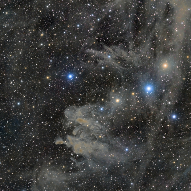Drunken Dragon Nebula (LBN 762 and LBN 753),                                Eric Zbinden