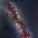 Milky Way in Summer Triangle,                                Giuliano Calderaro