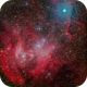 IC-2944 (Lambda Centauri Cluster, Running Chicken Nebula),                                Miles Zhou