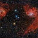 IC405 Flaming Star Nebula, IC410,                                Ernesto Arredondo