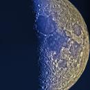 HDR moon mosaic at sunset,                                snarshmallow
