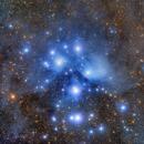 M45, the Pleiades,                                Paolo Demaria