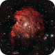 NGC 2174 Monkey Head Nebula in Poor Seeing,                                johrich