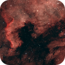 North America & Pelican Nebula Takahashi Epsilon 160ED first light,                                Stephan Linhart