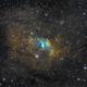 NGC 7635 SHO,                                Spoutnik17