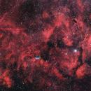Région du Cygne, mosaïque de 8 images HaRGB Get