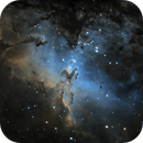 M16 NGC6611 Eagle Nebula,                                Albert  Christensen