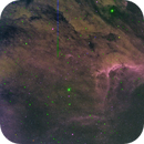 IC5070 - The Pelican nebula (my first false color image),                                RononDex