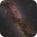 Summer Milky Way with Triangle,                                MarcinPc