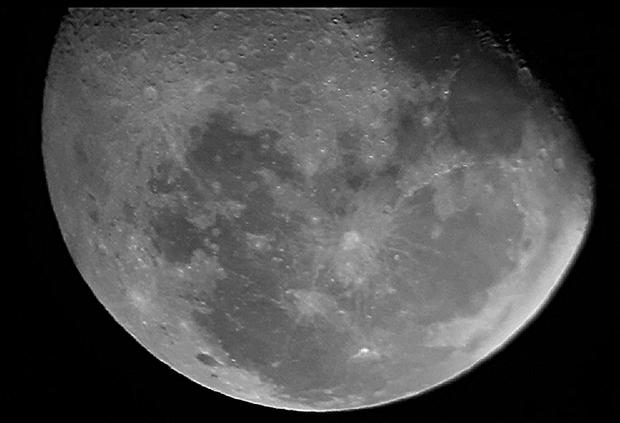 First (light) edited moon ,                                Hitechdem
