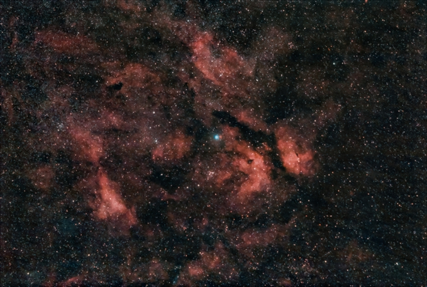 Sadr Region with Butterfly Nebula,                                Mateus