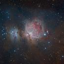Orion/Running Man Nebulae M42,                                Dean Fournier