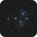The Pleiades, M45, simply stated,                                Steven Bellavia