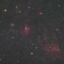 The Bubble Nebula wide field,                                yshoon