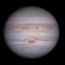 Jupiter, GRS, Oval BA, Novel NTrZ White Spot 2020-08-23,                                BQ_Octantis