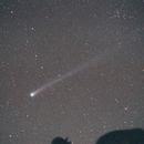 Comet Hyakutake, 28mm Lens,                                KHartnett