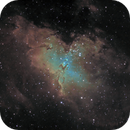M16 - The Eagle Nebula,                                cclark