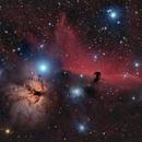B33 and NGC2024,                                Giorgio Ferrari