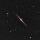 Needle Galaxy wide angle,                                James R Potts