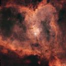 Heart Nebula - Starless Version,                                Joe Santacroce