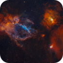 Bubble, Lobster Claw, and NGC 7538 | A Data Chimera,                                Kevin Morefield