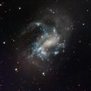 NGC 4395  Spiral Galaxy (low surface brightness) -- LRGB,                                Mike Mulcahy