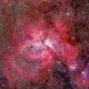 The Carina Nebula in Wide Field 2020 Version,                                Yu-Peng Chan