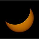 Solar eclipse,                                Astro-Clochard